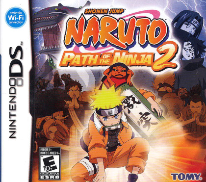 Naruto Path of the Ninja 2 (NDS)