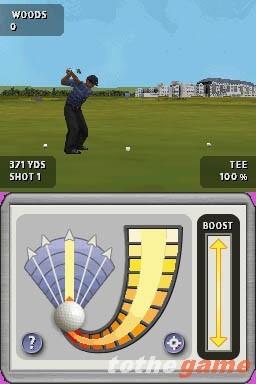 Tiger Woods PGA Tour (Nintendo DS)