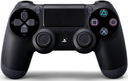 Sony Dualshock 4 Black (PS4)
