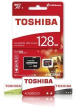 TOSHIBA EXCERIA micro SDHC 32GB bílá