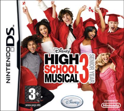High School Musical 3: Senior Year DANCE! (Hannah Montana - NDS)