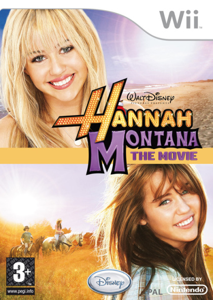 Hannah Montana The Movie (Wii)