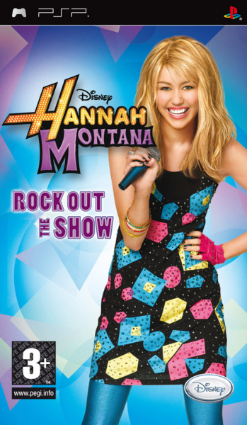 Hannah Montana: Rock Out the Show (PSP)