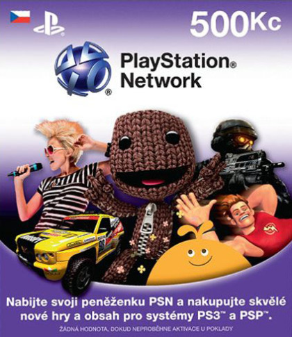 Sony PlayStation 3 - Network Card 500CZK