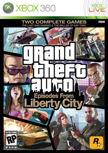 GTA Episodes From Liberty City (X360)
