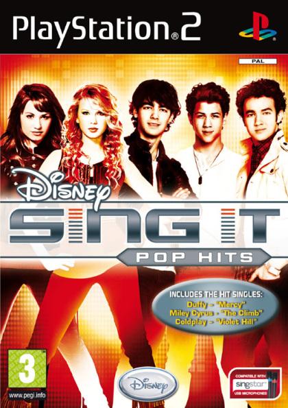 Disney Sing It: Pop Hits (Hannah Montana - PS2)