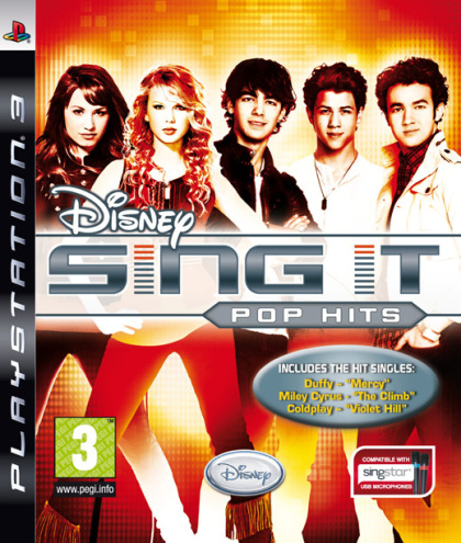Disney Sing It: Pop Hits (Hannah Montana - PS3)