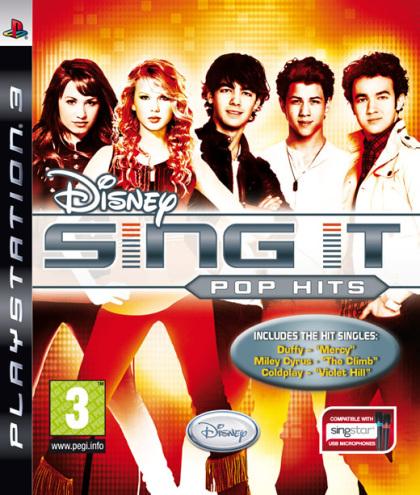 Disney Sing It: Pop Hits (Hannah Montana - PS3)