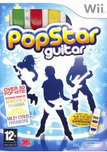 Pop Star Guitar Bundle (Wii)