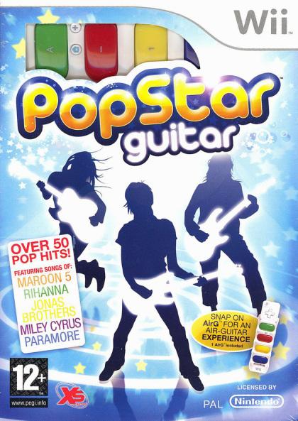 Pop Star Guitar Bundle (Wii)