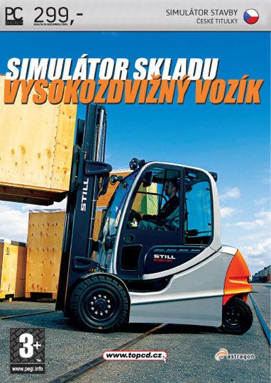 Simulátor skladu : Vysokozdvižný vozík (PC)