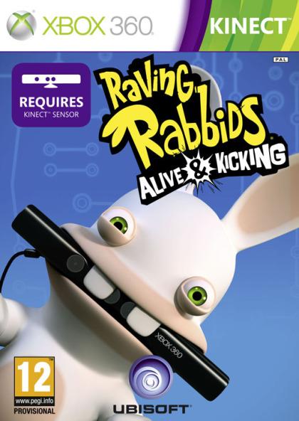 Rabbids: Alive & Kicking (X360 - Kinect)