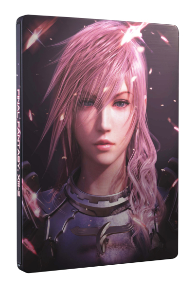 Final Fantasy XIII 2 Steelbook Edice (X360)