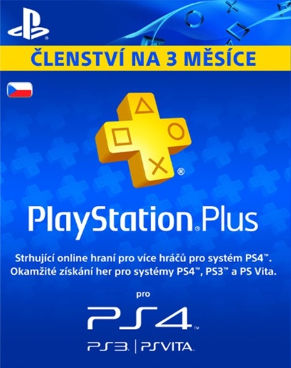 PlayStation Plus Card 90 Day (PS3)
