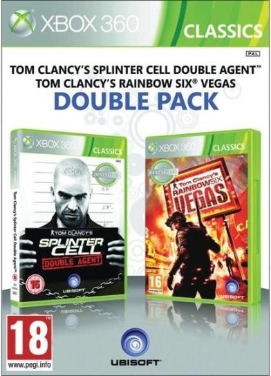 Splinter Cell Double Agent & Rainbow 6 Vegas (X360)