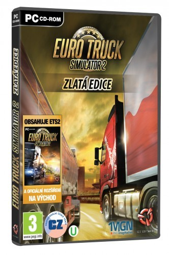 EURO TRUCK Simulator 2 Gold (PC)