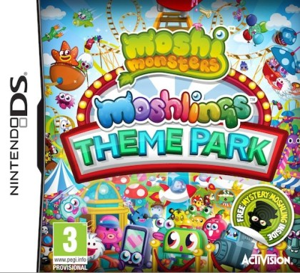 Moshi Monsters: Moshlings Theme Park (NDS)