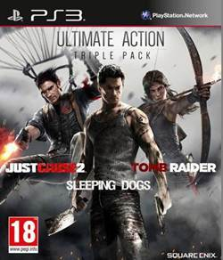 Just Cause 2 + Sleeping Dog + Tomb Raider (PS3)