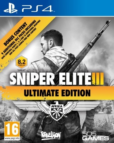 Sniper Elite 3 Ultimate Edition (PS4)
