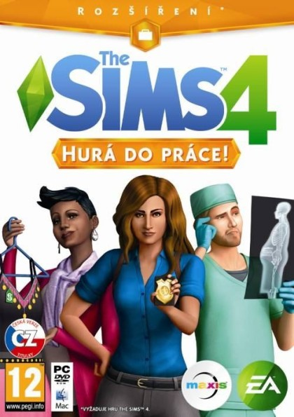 The Sims 4 Hurá do Práce (PC)