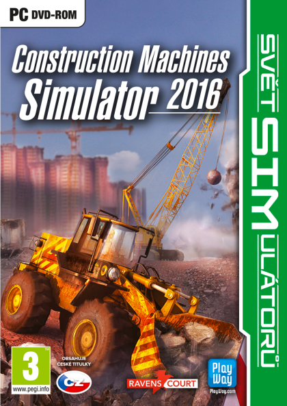Construction Machines Simulator 2016 (PC)