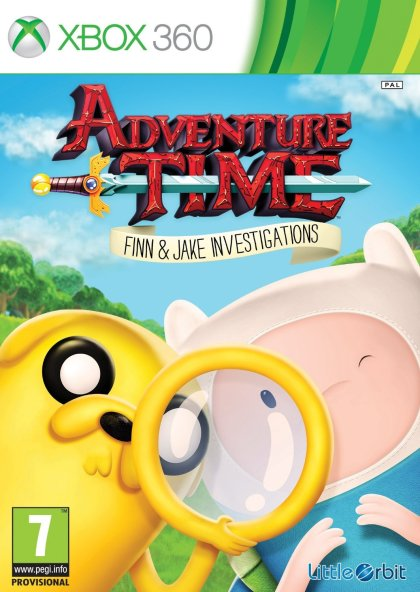 Adventure Time: Finn and Jake Investigations (X360)
