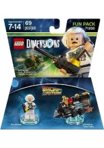 LEGO Dimensions Doc. Brown Fun Pack (71230 Back To The Future)