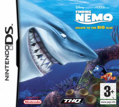 Finding Nemo: Escape to the Big Blue (Nintendo DS)