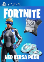 Fortnite Neo Versa Pack (Outfit + Neo Phrenzy + 2000 V-Bucks) (PS4)