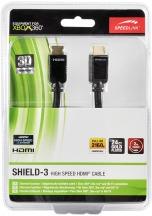 Kabel Speedlink Shield-3 High SpeedHDMI Cable s Ethernetem pro Xbox 360, 2m