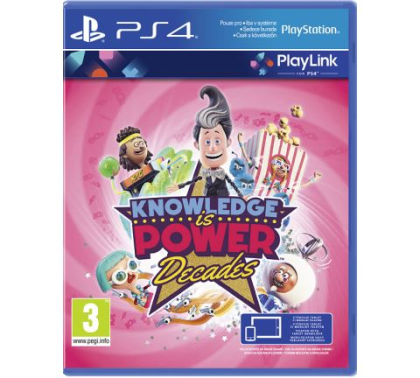Knowledge is Power Decades (PS4)