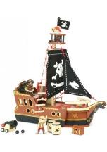 Loď pirátská VILAC dřevěná