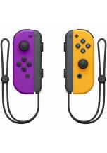 Nintendo Switch Joy-Con ovladače Neon Purple/Neon Orange
