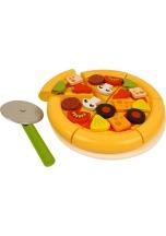 Pizza dětská BIGJIGS TOYS dřevěná