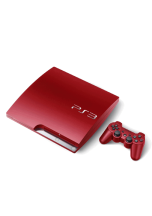 Playstation 3 Slim Red Bazarové