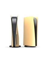 Náhradní díl pro Sony Playstation 5 Faceplate case / kryt zlatá barva matná