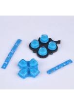 Sadatlačítekprosony PSP PlayStation Portable2004-modrá/průhledná