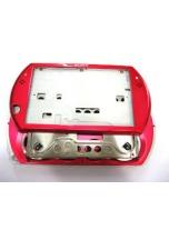 Kryt pro PSP Go - rudý
