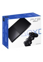 Playstation 2 slim  BLACK (SCPH-900004)