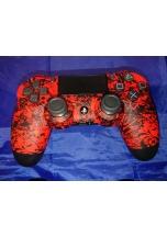 Sony Dualshock 4 Red Comic V2 (PS4)