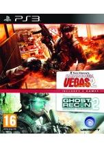 Tom Clancys Ghost Recon AW2+Rainbow Six Vegas 2 (PS3)